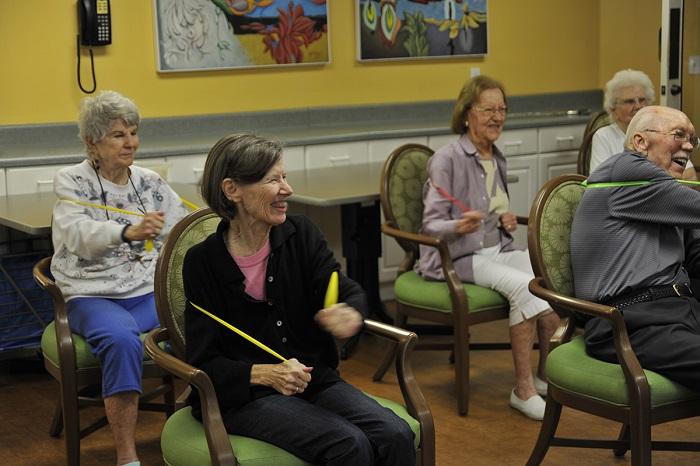 Keeping Senior Residents Active