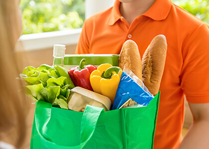 in-home grocery delivery