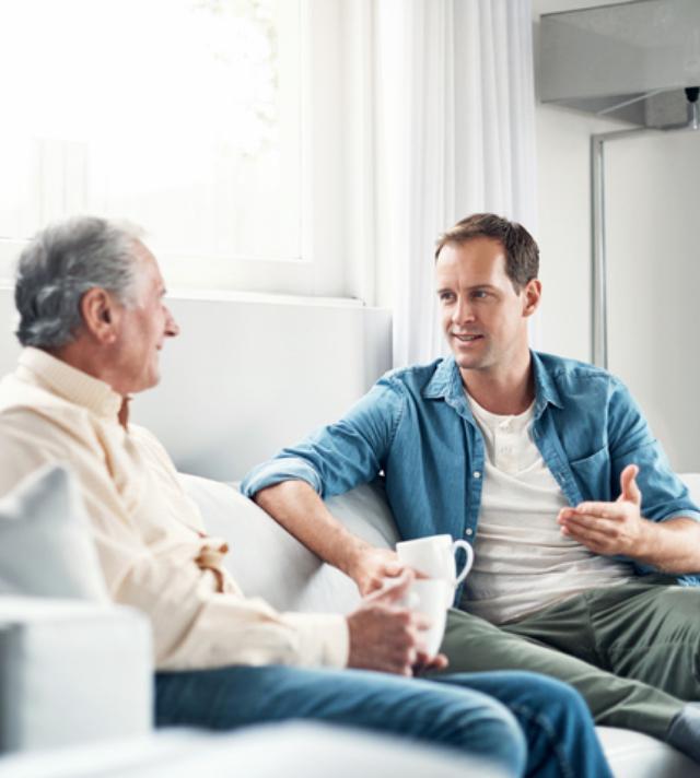 working through denial with a senior parent